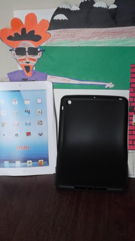 Silicone Skin Jelly Case iPad mini free matte screen protector