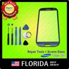 Pebble Blue Replacement Screen Glass Lens Samsung Galaxy S3 i9300 I747 T999 I535