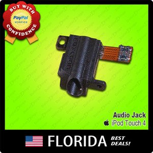 Audio Jack Port iPod Touch 4 4th Gen 4G Replacement 8GB 16GB 32GB head phones