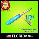 10x lot Pentalobe Torx Screw Drivers Screwdrivers iPhone 4 4S 5 Star Point x10