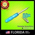 50x lot Pentalobe Torx Screw Drivers Screwdrivers iPhone 4 4S 5 Star Point x50