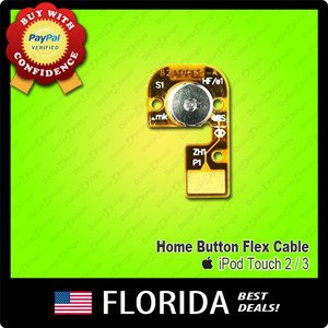 Home Menu Button Flex Cable iPod Touch 2nd 3rd Generation Gen Apple Replacement