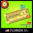 5pcs 5X 3M Tape Touch Screen Digitizer Adhesive Glue Sticker Apple iPad 2 5 lot