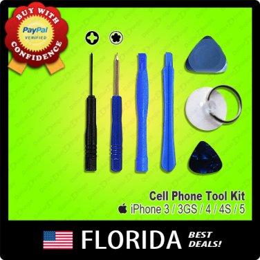 Repair Tool Kit 5 Point Star Pentalobe Torx Screwdriver iPhone 3 3G 3GS 4 4G 4S