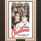 Casablanca 11x17 Movie Poster Framed