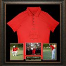 Rory McIlroy Autographed Shirt Framed