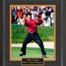 Tiger Woods Signed Photo Framed