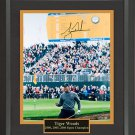 Tiger Woods Signed Open Championship Photo Framed