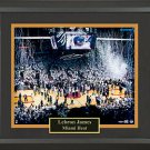 Lebron James Autographed Photograph Framed