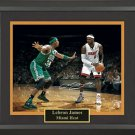 LeBron James Autographed Photo Framed