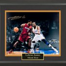 LeBron James Signed Photo Framed