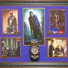 The Dark Knight Signed Five Photo Collage Framed
