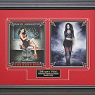 Jennifers Body Collage Signed by Megan Fox Framed