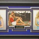 Maria Sharapova Signed Three Photo Collage Framed