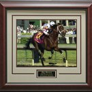 Big Brown Kentucky Derby Photo Framed