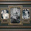 Yogi Berra Autographed Collage Framed