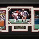 Joe Montana Signed Collage Framed