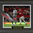 Wayne Rooney Signed Cleat Framed