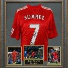 Luis Suarez Signed Jersey Framed