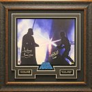 Star Wars Signed Photo Framed