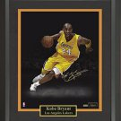 Kobe Bryant Signed Photo Framed