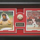Pete Rose Autographed Baseball Framed