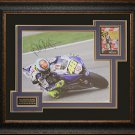 Valentino Rossi Signed 16x20 Photo Framed