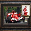 Michael Schumacher Signed Photo Framed