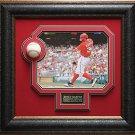 Bryce Harper Autographed Baseball Framed