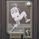 Vida Blue Signed Baseball Display Framed