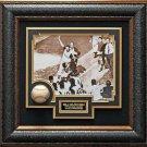 Bill Mazeroski Signed Baseball Collage Framed