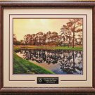Augusta National Golf Club Hole 16 Framed Photo