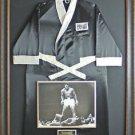 Muhammad Ali Signed Everlast Robe Display.