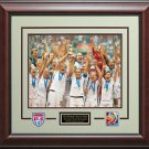 2015 Women's World Cup Champion Team USA 8x10 Photo Display.