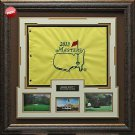 2013 Official Masters Hole Flag Framed