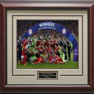 2013 Champions League winners Bayern Munich Celebration Photo Framed