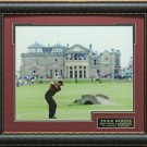 Tiger Woods 2005 Open Champion Photo Framed