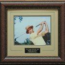 Sam Snead Finished Fluid Swing Photo Display.