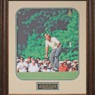 Jack Nicklaus The Putt Photo Framed
