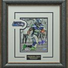 Marshawn Lynch Signed Seattle Seahawks Photo Framed