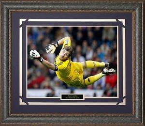 Iker Casillas Real Madrid C.F. Framed Photo