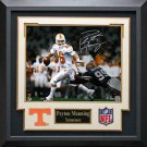 Peyton Manning Signed Tennessee Volunteers Photo Framed