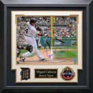 Miguel Cabrera Signed Detroit Tigers Photo Display
