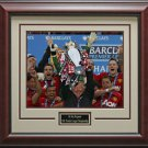 Alex Ferguson's 2013 Premier League Champion Framed Photo