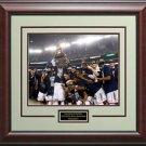 Uconn Men's 2014 NCAA Basketball Champions Photo Framed