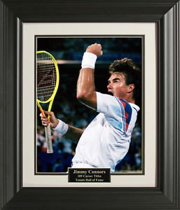 Jimmy Connors 16x20 Photo Framed