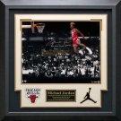 Michael Jordan Signed 1988 Gatorade Slam Photo Display LE of 88.