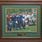 Hogan & Palmer Smoking Photo Framed