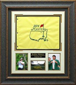 Bubba Watson 2014 Masters Champion Photo Display