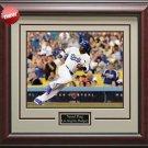 Yasiel Puig LA Dodgers Photo Framed